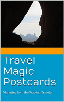 Travel Magic Postcards Book