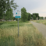 Leaving Denver and Arriving in Aurora on Trail on the 9 Creeks Loop, Segment 3