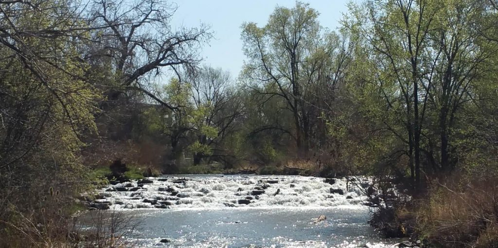 cherry creek urban hiking denver eatwalklearn