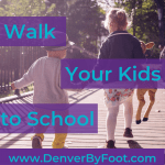 The Walk Your Kid to School 1-mile Radius Challenge