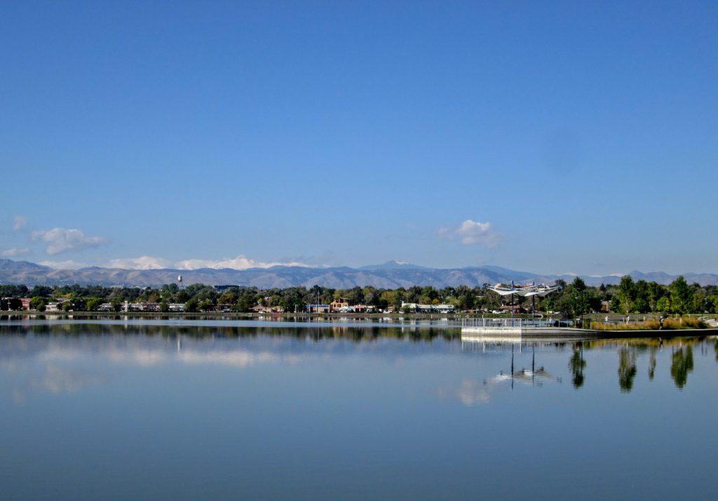 A Lake or a Leak, Sloan's Urban Hike in Denver
