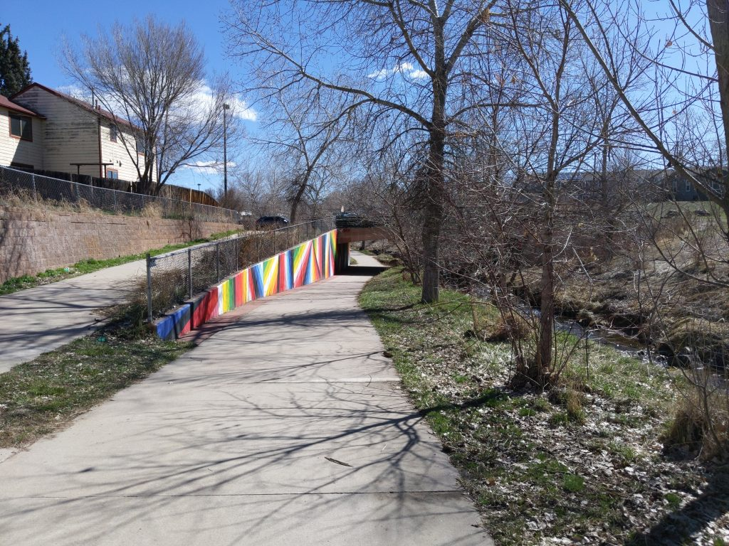Here are Ten 6-foot wide Paths to Walk in Denver Right Now
